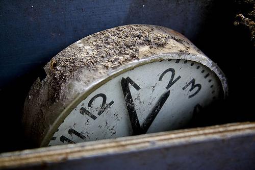 Le temps s\'est arrêté