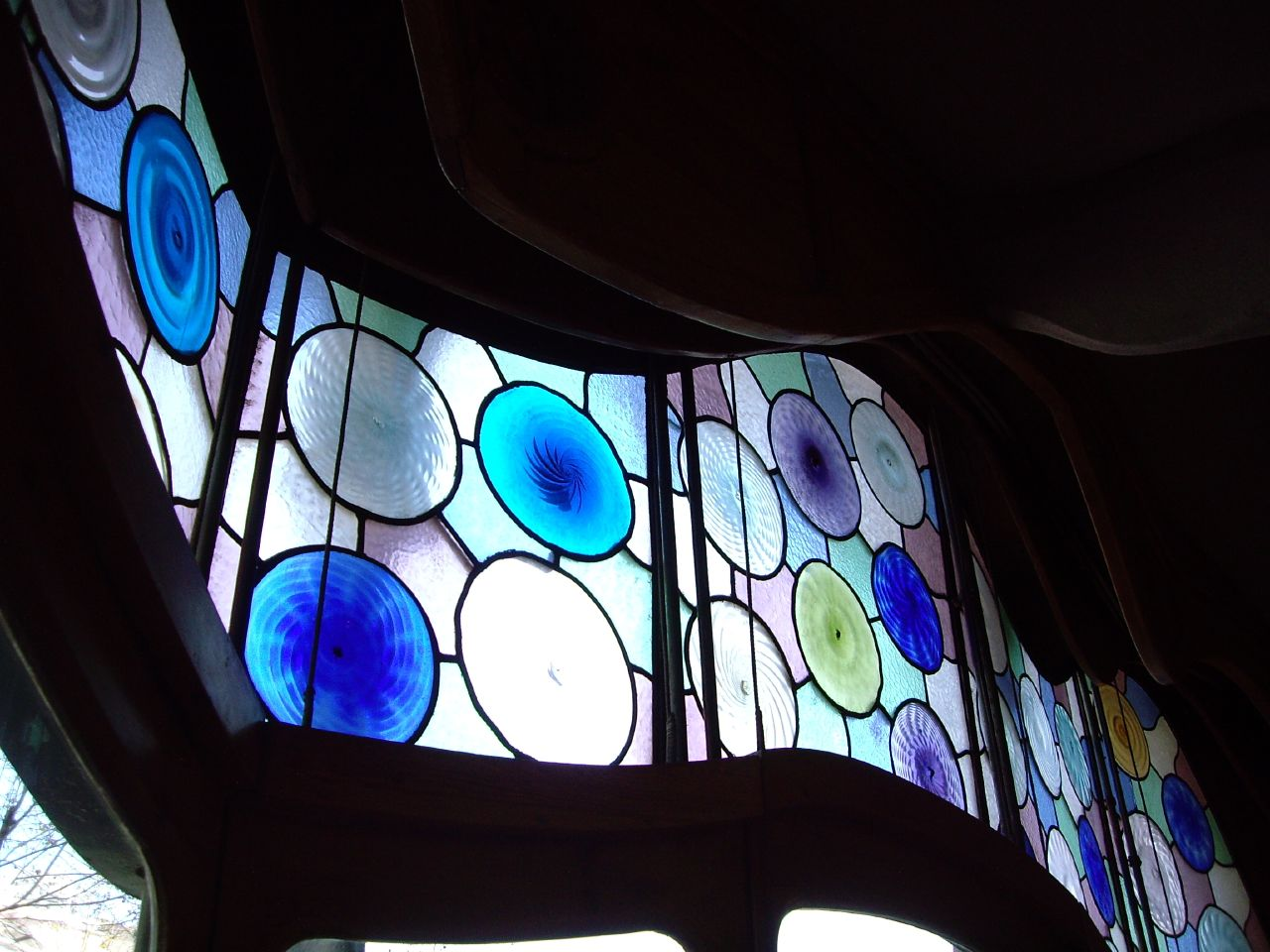 Drawing room - stained glass