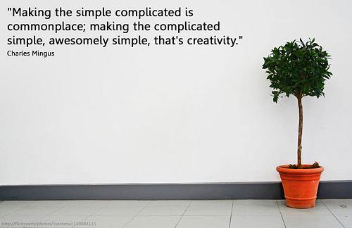 simplicity is hard