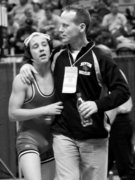Cousin Bryson Dixon and I at the 2008 State Championships